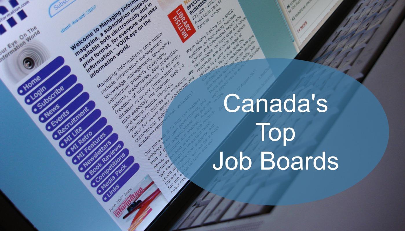canada u0026 39 s top job boards
